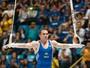 Modelo por um dia, Arthur Zanetti fala em 15,800 para medalha na Rio 2016