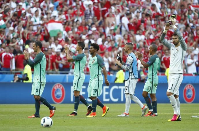 Hungria x Portugal (Foto: Reuters)