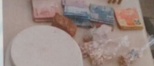 Jovem é detido com munições e drogas (Divulgação/Polícia Civil)