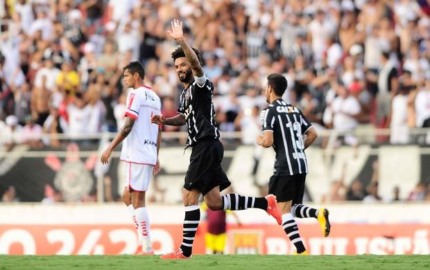 Ituano x Corinthians - gol Corinthiand (Foto: Marcos Ribolli)