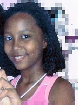 A menina Maria Vitoria, de 11 anos (Foto: Divulgação/FIA)