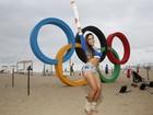 Vídeo: Mulher Melão quer saber qual o significado dos arcos olímpicos
