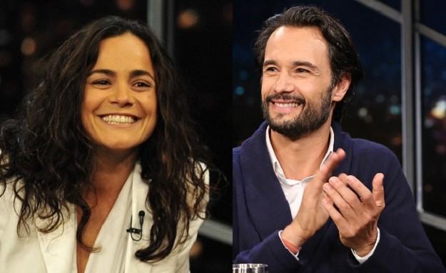 Alice Braga e Rodrigo Santoro (Foto: TV Globo)