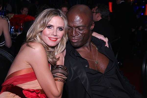 Heidi Klum e Seal (Foto: Getty Images)