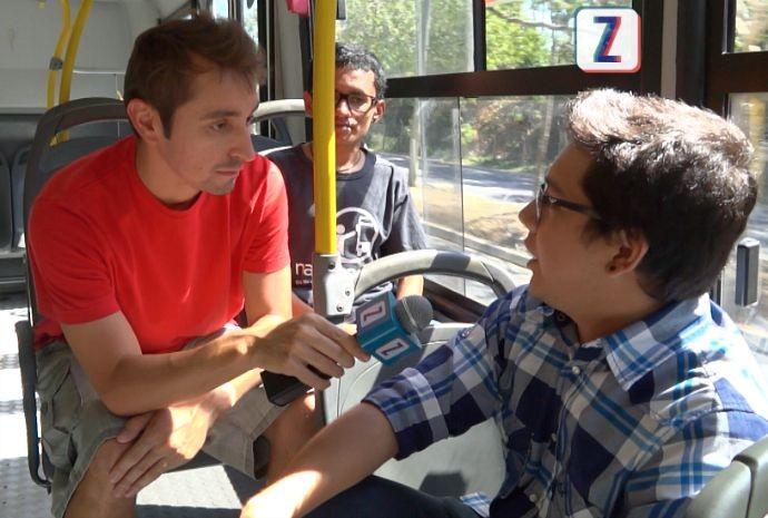 Jovens idealizaram projeto (Foto: Zappeando)