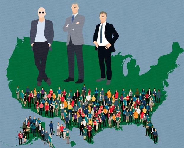 Estudo mostra fortuna de bilionários em relação ao restante da população (Foto: Reprodução)