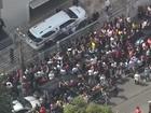 Corpo de Domingos Montagner deixa velório rumo a cemitério em São Paulo