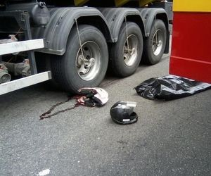 Jovem tem a cabeça esmagada por carreta em acidente, em Aracaju (Foto: Osmar Souza/Arquivo Pessoal)
