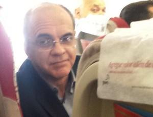 Eduardo Bandeira Presidente Flamengo (Foto: Reprodução / Twitter)