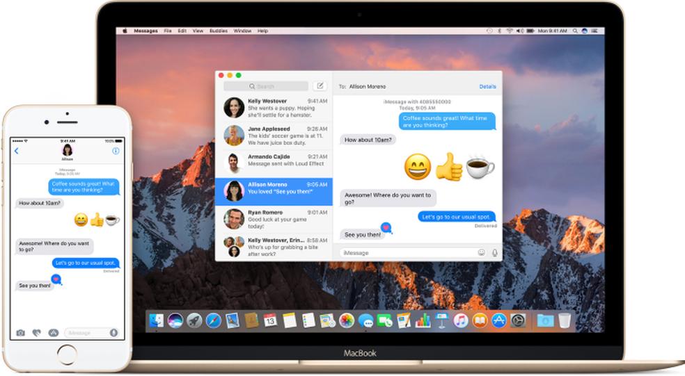 Veja como parar de receber mensagens do iMessage em outros aparelhos (Foto: Divulgação/Apple)