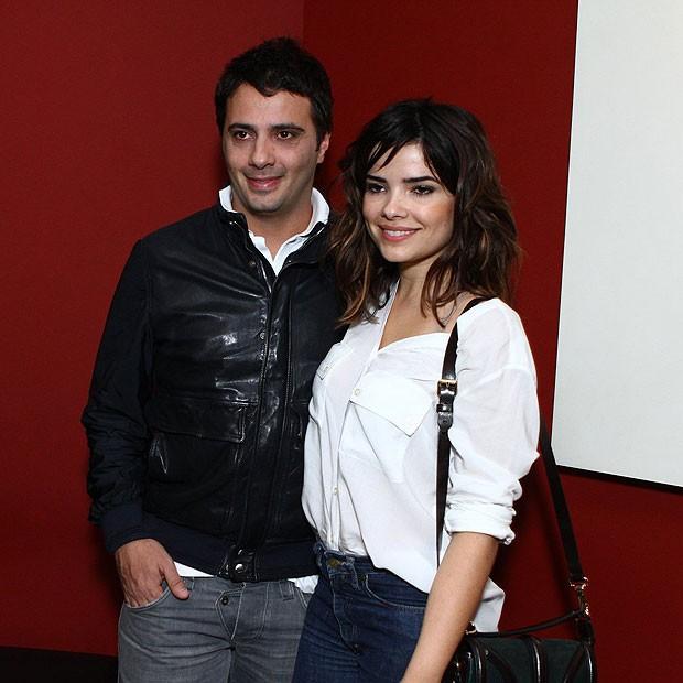 Vanessa Giácomo e o namorado, o empresário Giuseppe Dioguardi (Foto: Raphael Mesquita/Foto Rio News)