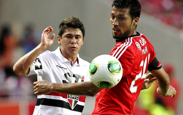 Osvaldo são paulo garay benfica eusebio cup (Foto: Carlos Augusto Ferrari)