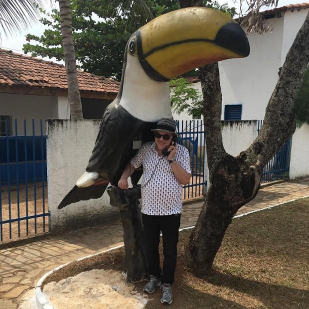 Ealcyr Carrasco curte férias em Tocantins (Foto: Reprodução/Instagram)