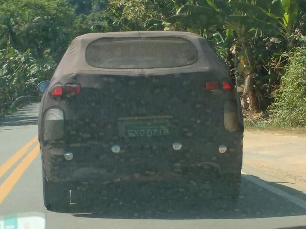 Hyundai Tucson fotografado em testes em São Paulo (Foto: José Carlos Antunes / VC no G1)