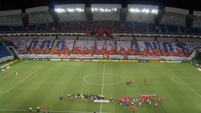 América-RN x Vasco - Mosaico (Foto: Augusto Gomes/GloboEsporte.com)