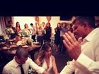 Lizi Benites se casa com personal trainer em São Paulo