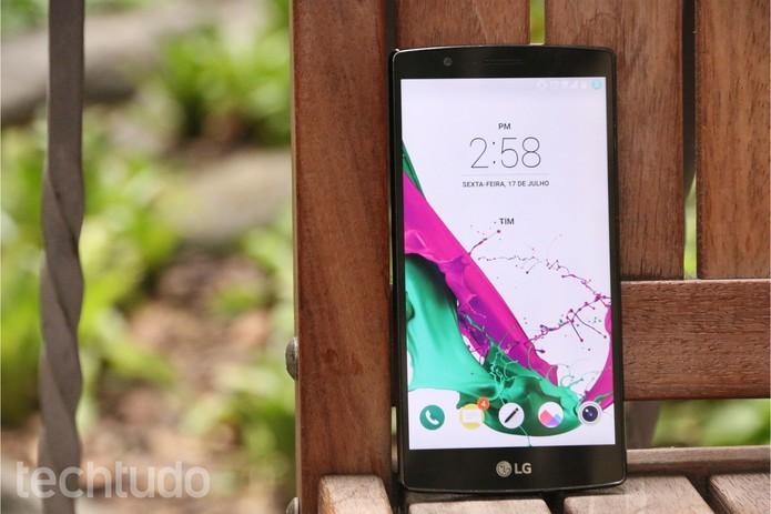 LG G4 tem design elegante (Foto: Luciana Maline/TechTudo)