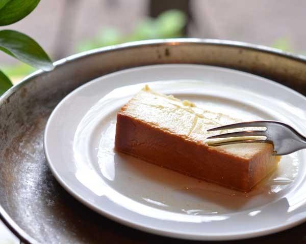 pudim de queijo canastra (Foto: Giuliana Nogueira/Divulgação)