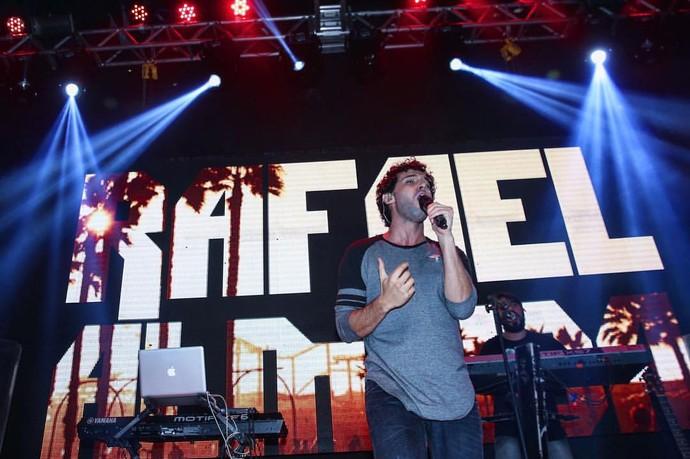 Momento do show, em Fortaleza (Foto: Arquivo Pessoal)