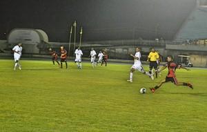 Santos-AP; Trem; Futebol (Foto: Rosivaldo Nascimento/Arquivo Pessoal)