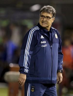 Gerardo Martino Argentina x Paraguai eliminatorias (Foto: Reuters)