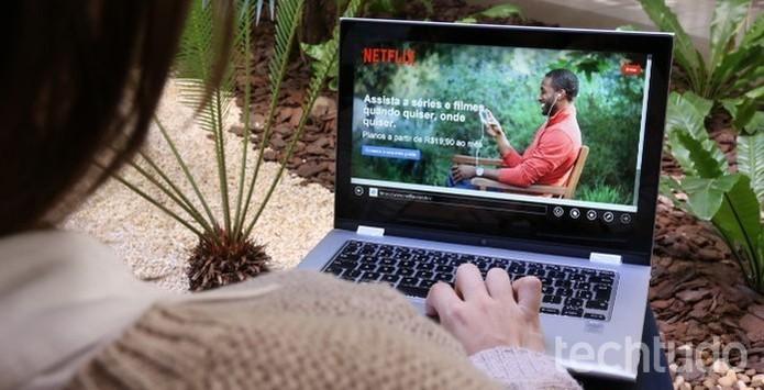 Netflix é um dos principais serviços de streaming do mundo (Foto: Raíssa Delphim/TechTudo)