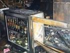 Mercado é incendiado após tentativa de assalto em Praia Grande, SP