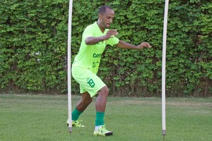 Léo Salino, Cuiabá (Foto: Pedro Lima/Cuiabá Esporte Clube)