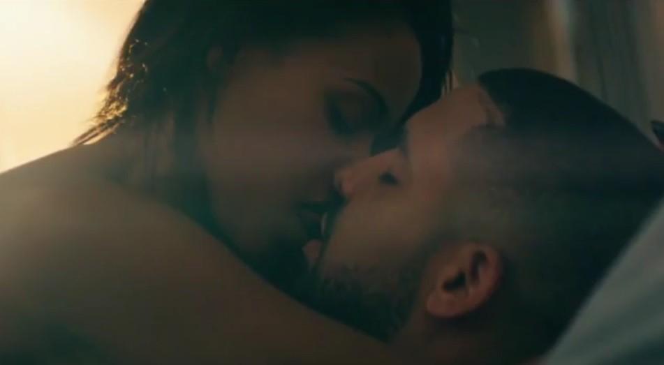 Drake e Fanny Neguesha fazem cenas sensuais em 'Please Forgive Me', curta lanado pelo rapper (Foto: Reproduo)
