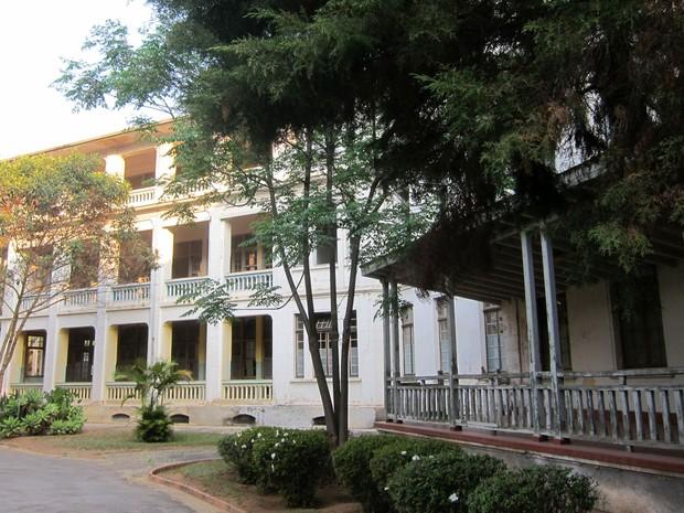 Sanatório Vicentina Aranha, localizado em um parque público em São José dos Campos (Foto: Divulgação/Secretaria de Estado da Cultura de São Paulo)