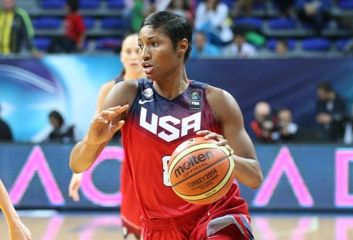 Angel McCoughtry seleção americana de basquete (Foto: Team USA)