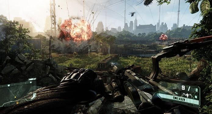 A beleza de Crysis 3 custou uma fortuna (Foto: Divulgação)