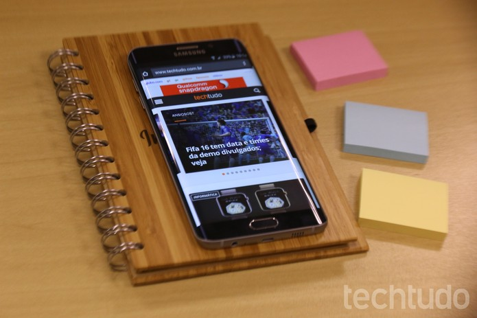 Samsung Galaxy S6 Edge Plus (Foto: Luciana Maline/TechTudo)