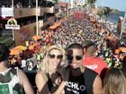 Famosos curtem sexta-feira de carnaval em Salvador, no Rio e em São Paulo