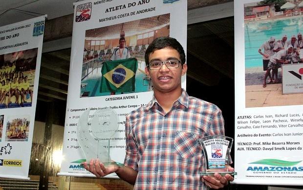 natação amazonas, Matheus (Foto: Frank Cunha/Globoesporte.com)
