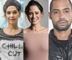 Maria Flor, Fernanda Vasconcellos e Silvio Guindane | TV Globo e Multishow
