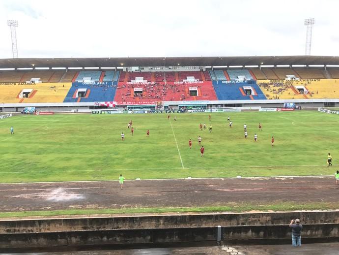 Comercial-MS x União ABC estádio Morenão (Foto: Osni Miranda/TV Morena)