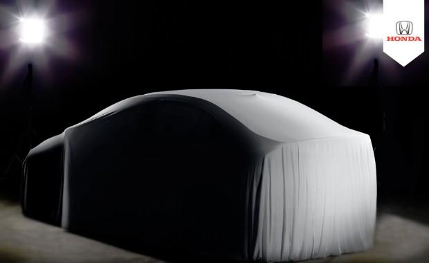 Honda divulga teaser do novo City no Brasil (Foto: Divulgação)
