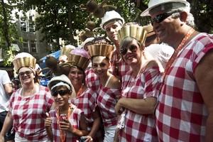 Veja fotos dos blocos que agitaram o carnaval (Ariel Subirá/Futura Press/Estadão Conteúdo)