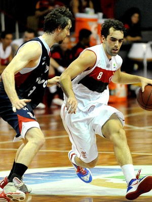 Benite basquete Flamengo x Franca NBB (Foto: Alexandre Vidal / Fla Imagem)
