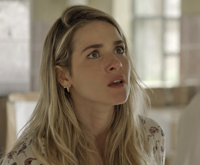 Tina decide ir embora (Foto: TV Globo)