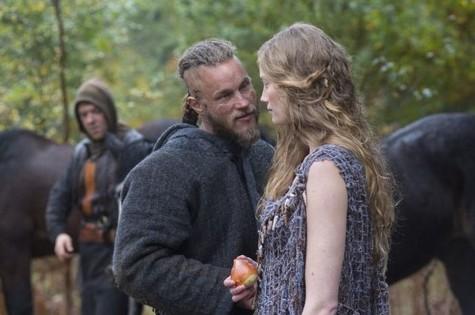 Travis Fimmel em cena de Vikings (Foto: Reprodução)