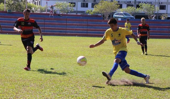 Nacional e Tarumã Futebol Júnior (Foto: Divulgação/Nacional)