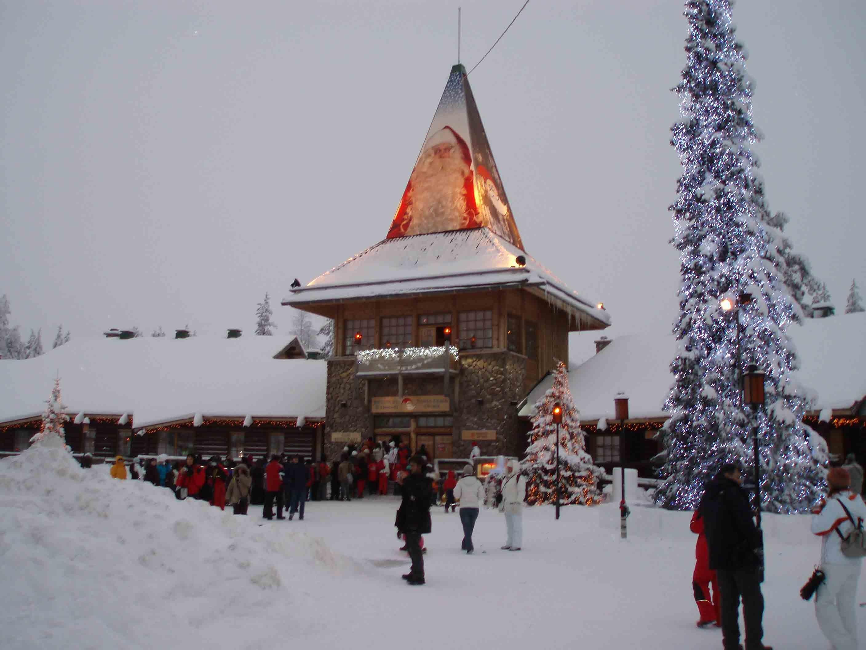 Santa Claus' Village na Finlândia (Foto: Wikimedia/Ulla )