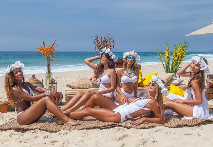 As lindas Coleguinhas do 'Caldeirão do Huck' (Foto: Artur Meninea / Gshow)