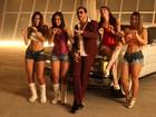Latino passa a madrugada gravando novo clipe e posta foto dos bastidores