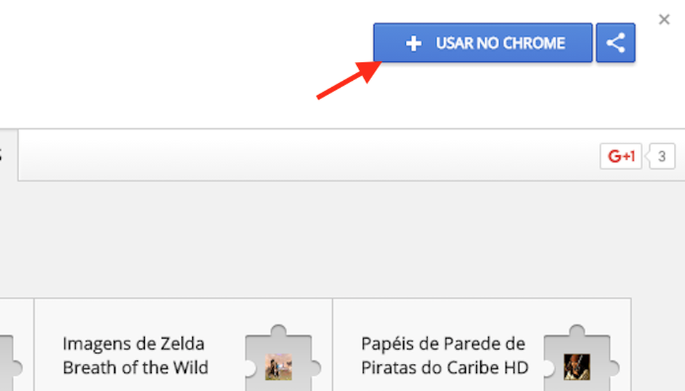 Opção para preparar o download da extensão Instagram Save Tool para Google Chrome (Foto: Reprodução: Marvin Costa)