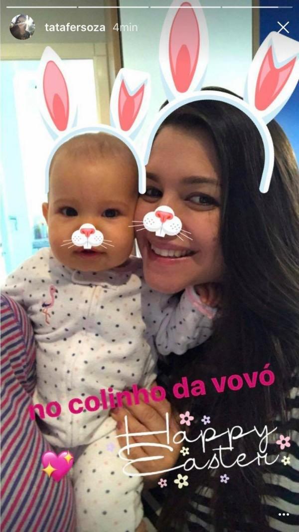 Thais Fersoza e Melinda (Foto: Reprodução / Instagram)