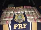 Casal é preso com mais de 20 kg de haxixe e maconha em Cajati, SP