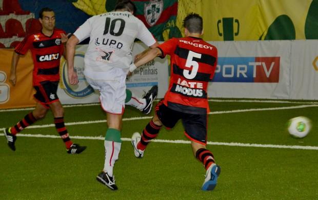 Rodrigo Fabri teve atuação destacada pela Lusa (Foto:  Davi Pereira/Champions Comunicação)